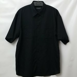 Alfred Sung  Short Sleeved Button Up Size L Shirt